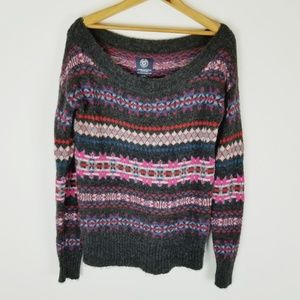 Wool Mohair American Eagle Outfitters sweater sm